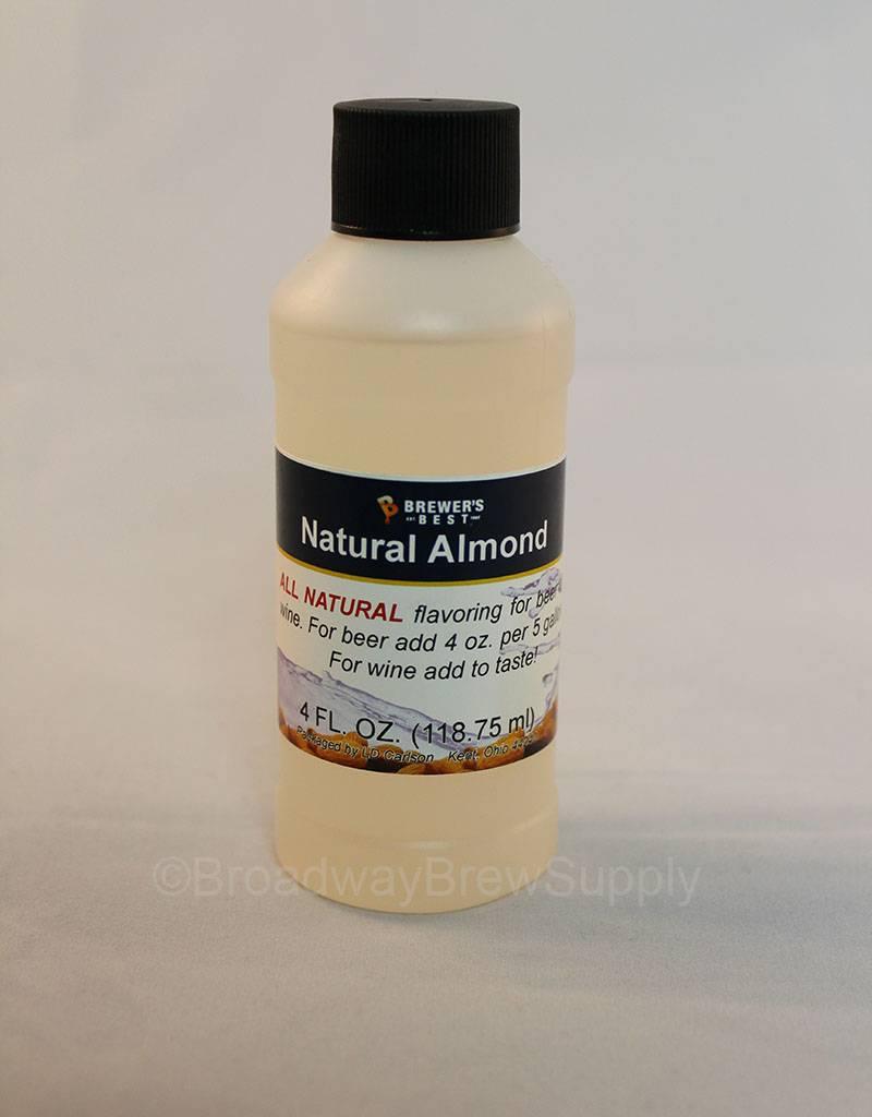 Brewer's Best Natural Almond Flavoring – 4 Oz