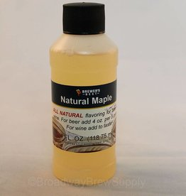 Brewer's Best Natural Maple Flavoring – 4 Oz