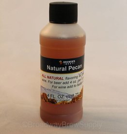 Brewer's Best Natural Pecan Flavoring – 4 Oz