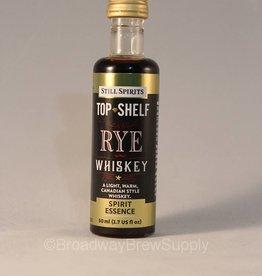 Top Shelf Rye Whiskey