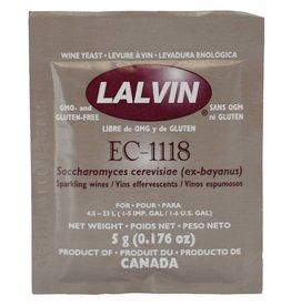 Ec-1118, Lalvin Dry Wine Yeast, 5 g - Each