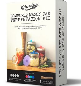 Complete Mason Jar Fermentation Kit