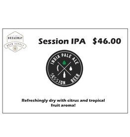 Session IPA 5 Gallon Beer Recipe Kit