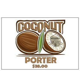 Coconut Porter 5 Gal Beer Recipe Kit