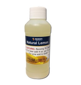 Brewer's Best Natural Lemon Flavoring – 4 Oz