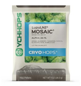 LupuLN2 Pellets, Cryo Hops Mosaic - 1 oz Package
