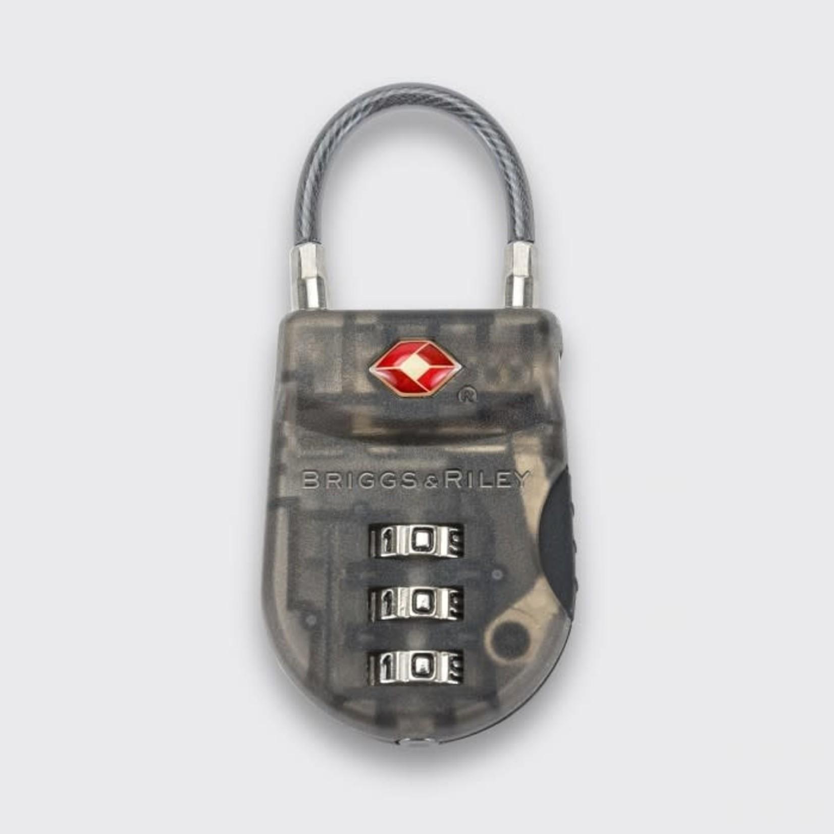 BRIGGS & RILEY TSA CABLE LOCK (PLASTIC)