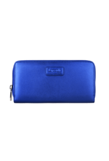 ZIP AROUND WALLET Exotic Blue
