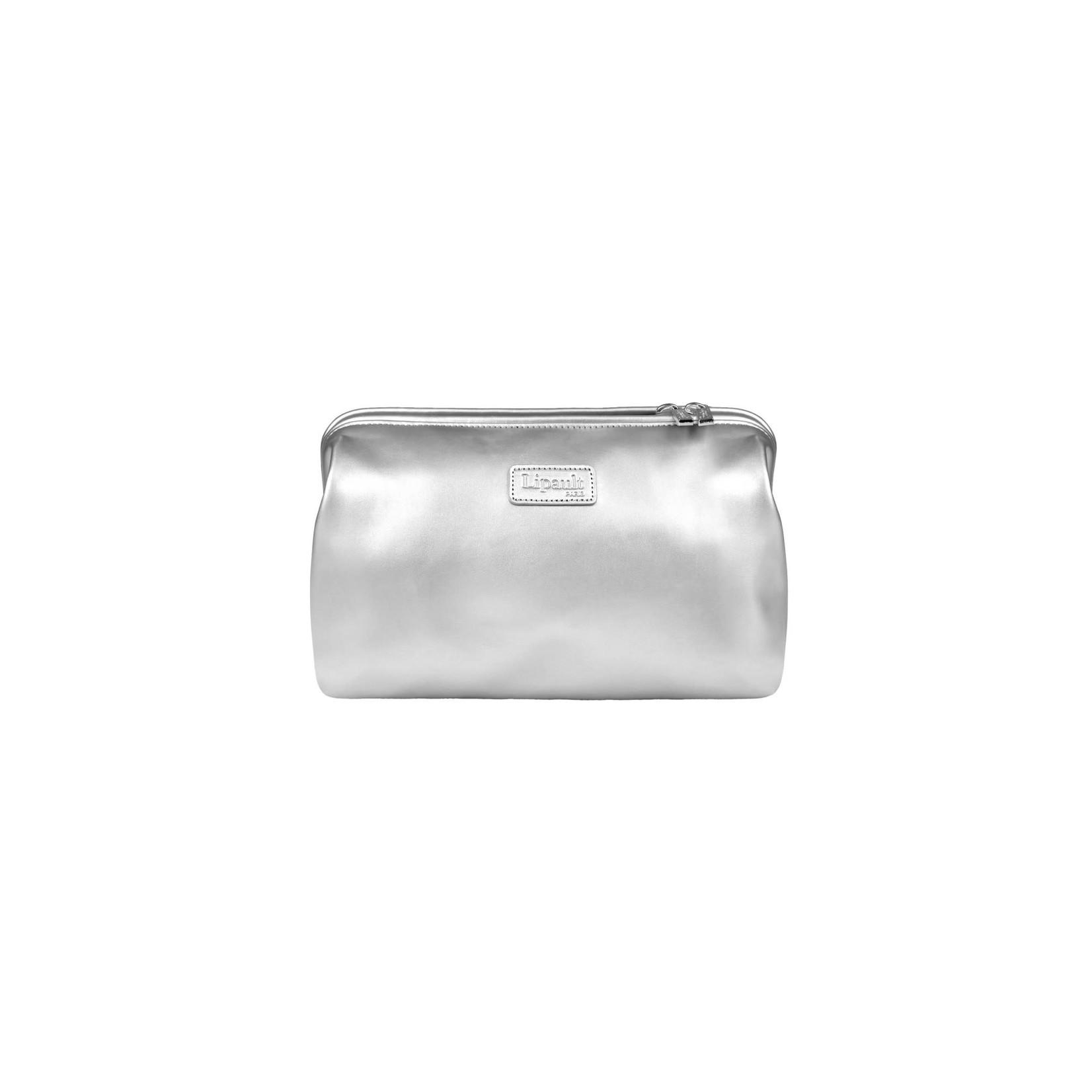 PLUME TOILETRY KIT Silver
