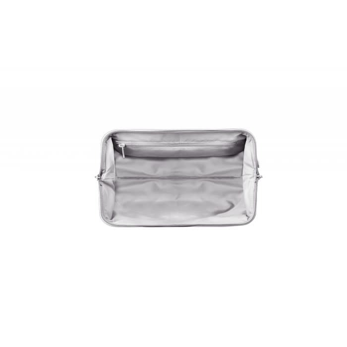 PLUME TOILETRY KIT Silver
