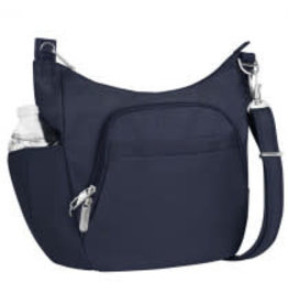 TRAVELON CLASSIC CROSSBODY BUCKET BAG