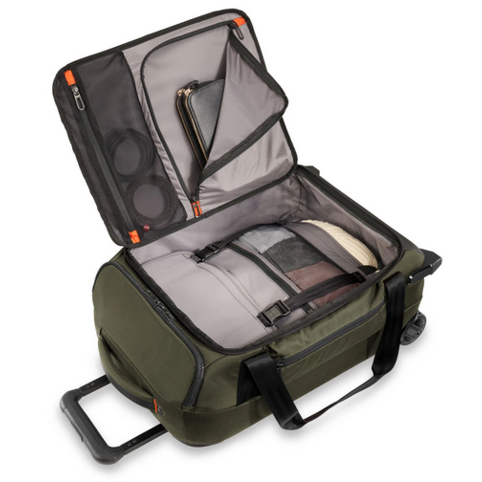 """BRIGGS & RILEY ZDX 21"""" CARRY-ON UPRIGHT DUFFLE"""