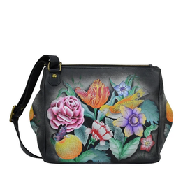 Anuschka ANUSH Triple Compartment Crossbody