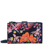 Anuschka PAINTED PHONE WALLET CROSSBODY