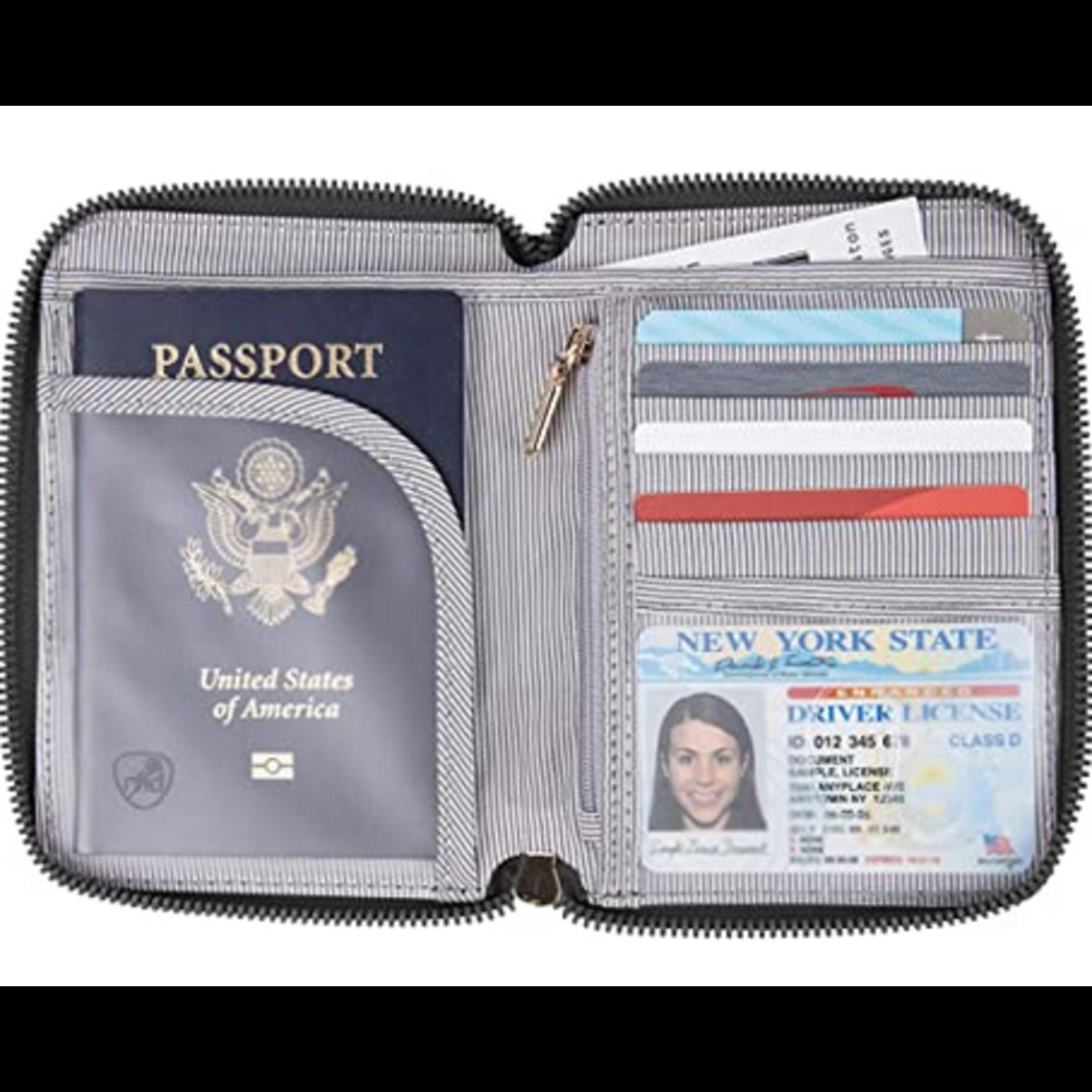 TRAVELON PASSPORT ZIP WALLET