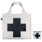 LOQI LOQI TOTE MUSEUM Black Cross