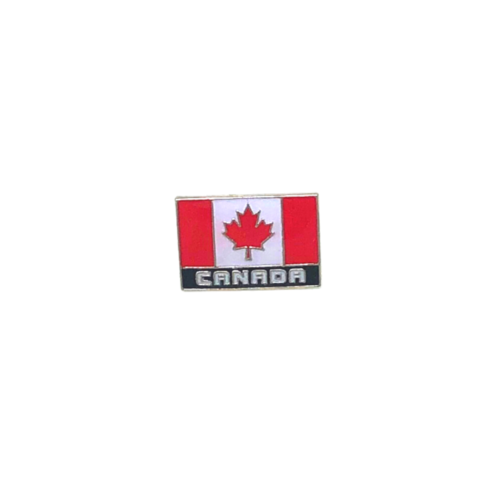 CANADA FLAG PIN BLOCK