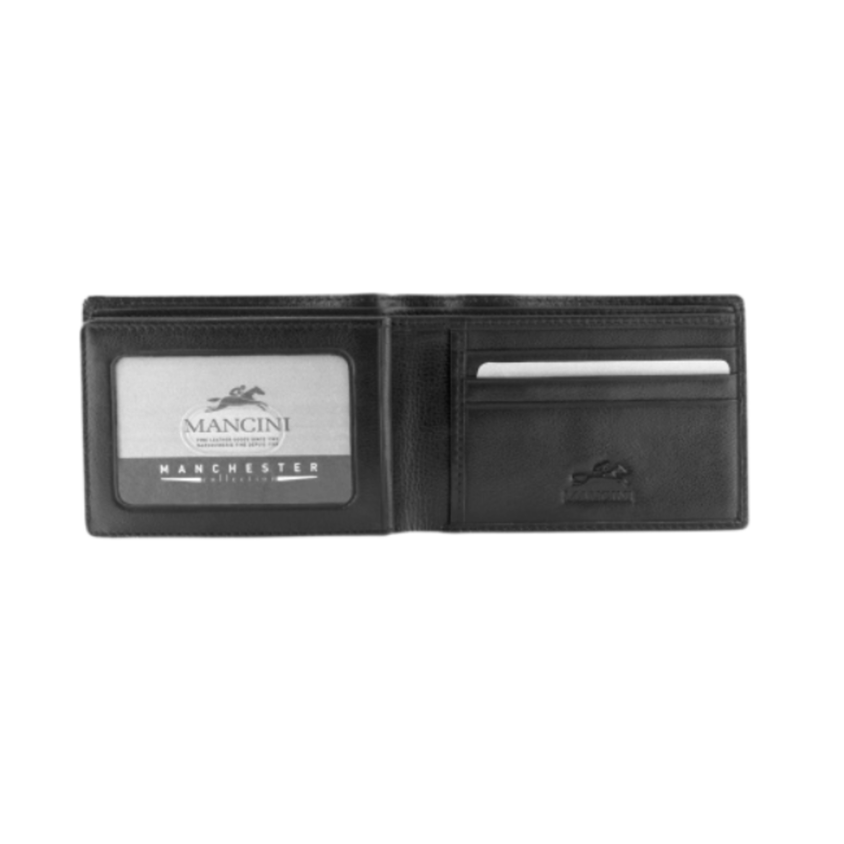 MANCINI MANCINI RFID SECURE CENTRE WING WALLET