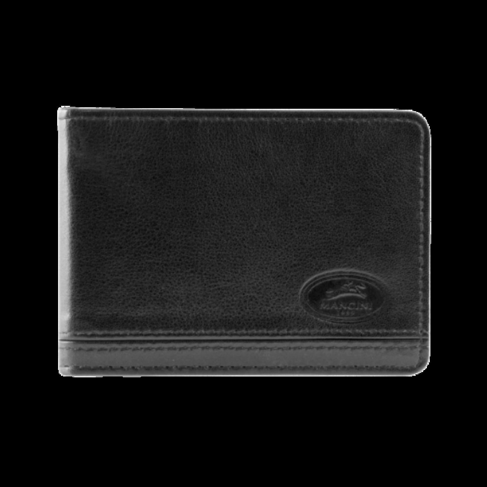 MANCINI RFID DELUXE BILL CLIP Black
