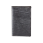 BRUSHED GRANITE GUSSETED CARD CASE