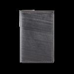 BRUSHED GRANITE GUSSETED CARD CASE