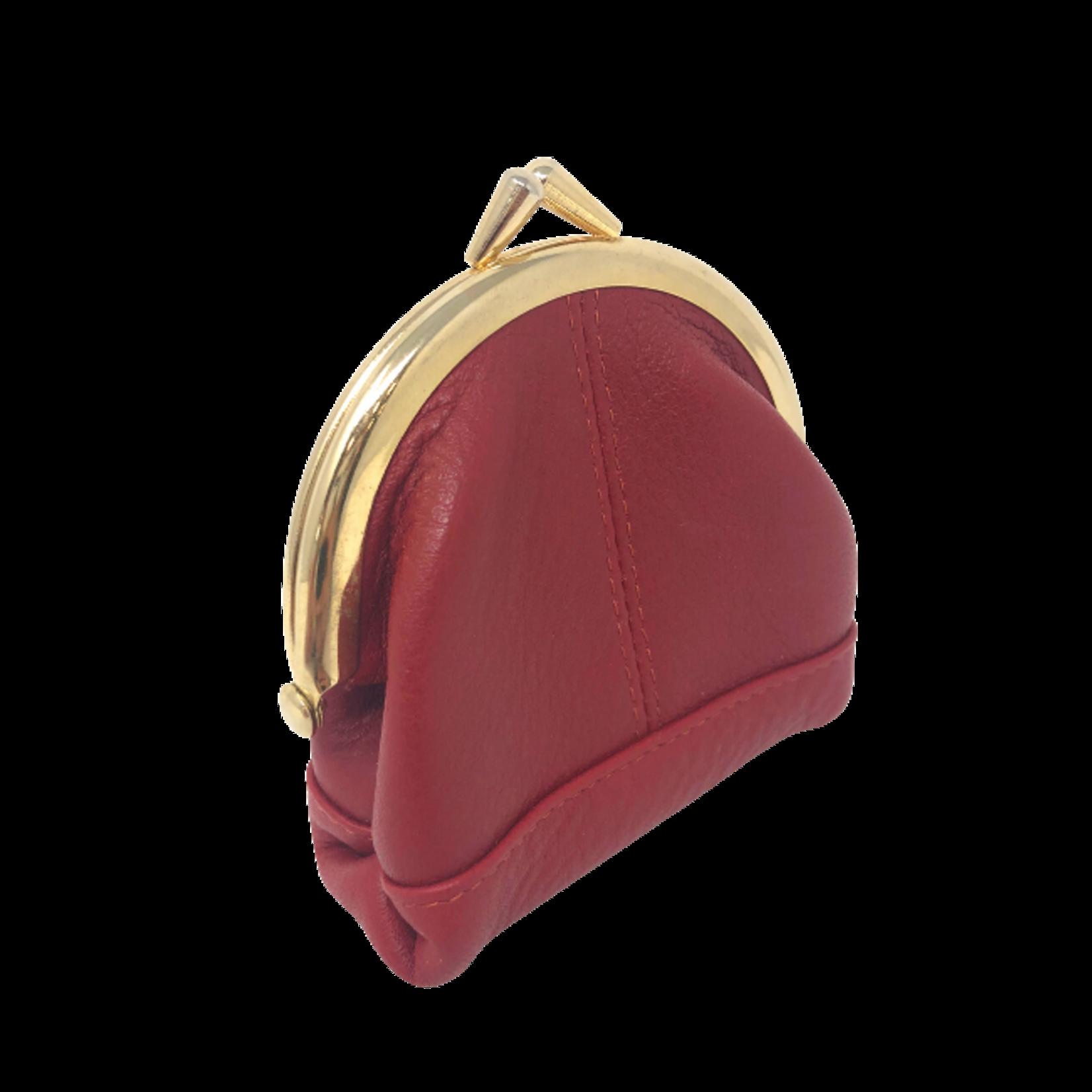 DEREK ALEXANDER Medium frame change purse Red