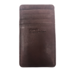 DEREK ALEXANDER DAL LEATHER DOUBLE SIDED CARD HOLDER