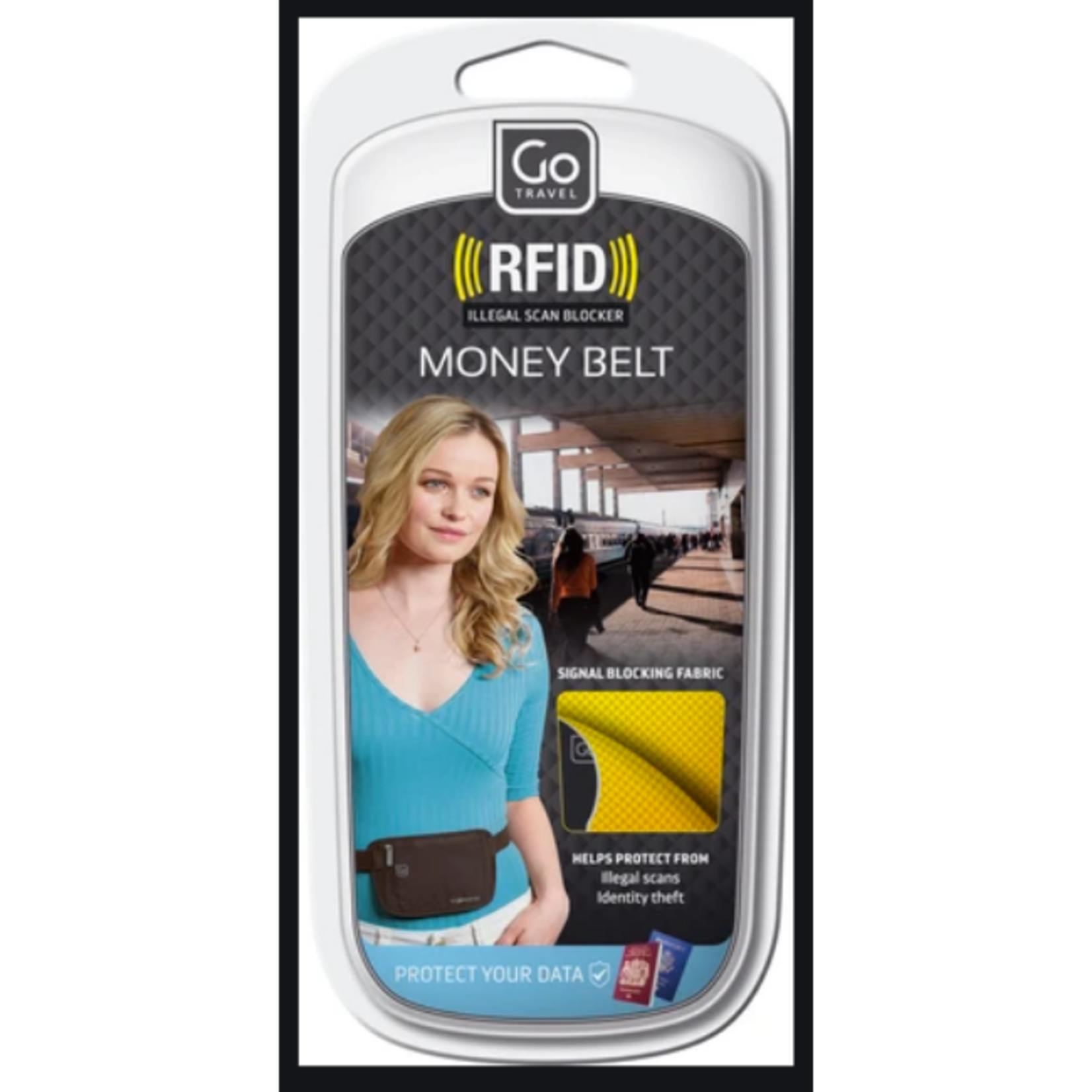 GO TRAVEL GO TRAVEL RFID MONEY BELT