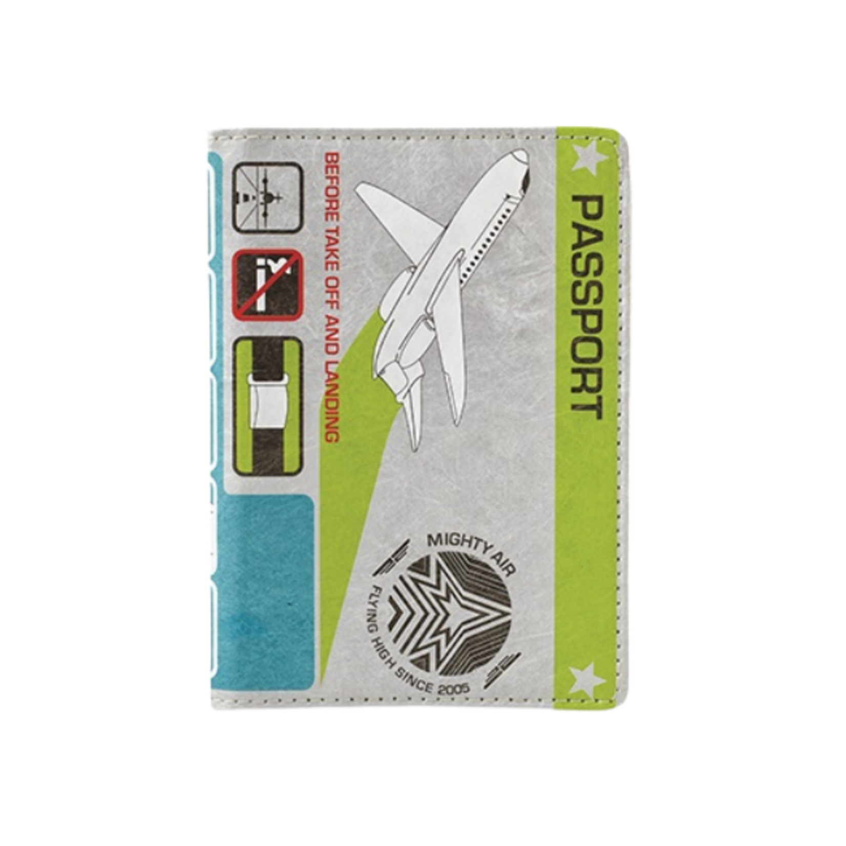 DYNOMIGHTY PASSPORT COVER