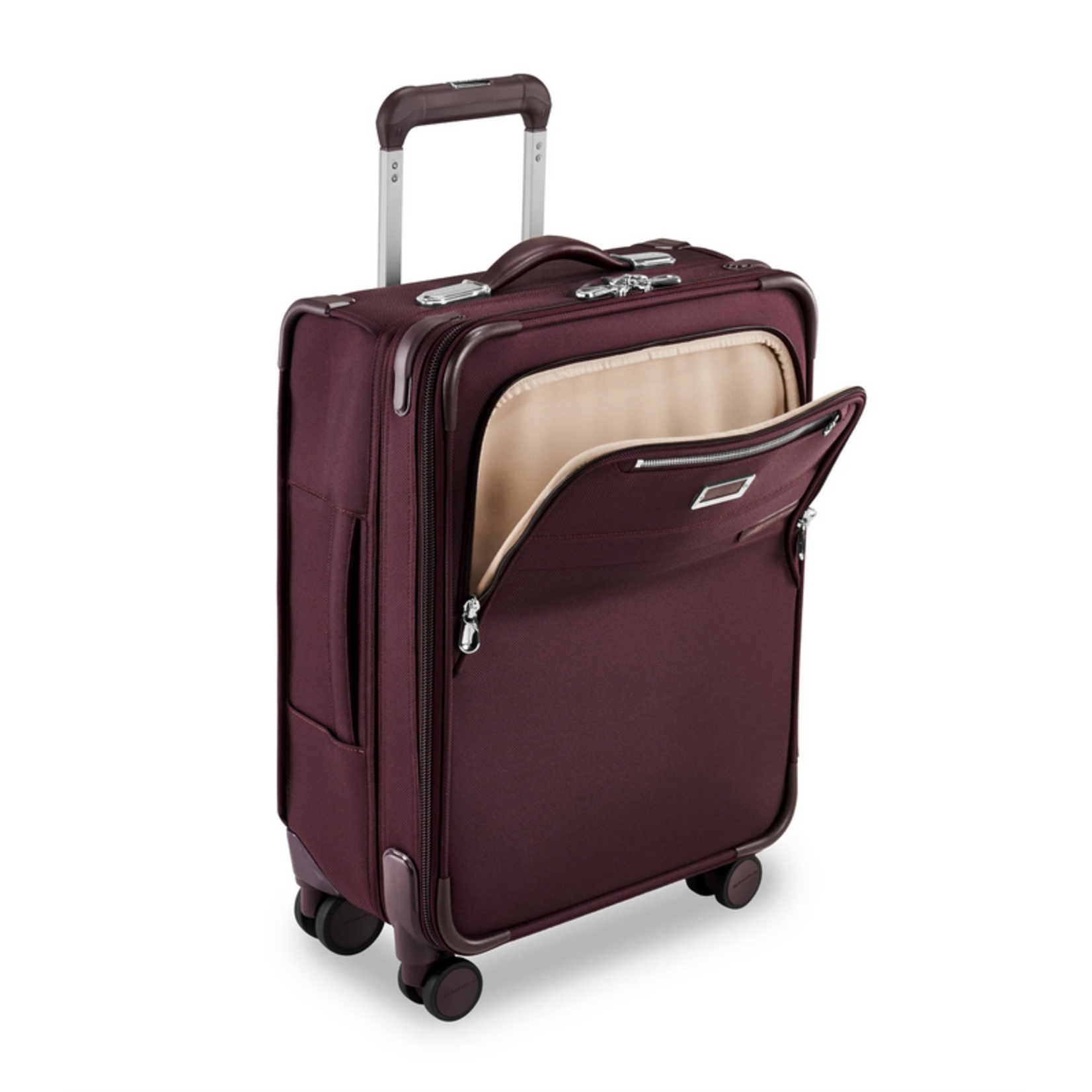 BRIGGS & RILEY BASELINE INTL CARRY-ON EXP WB SPINNER Plum