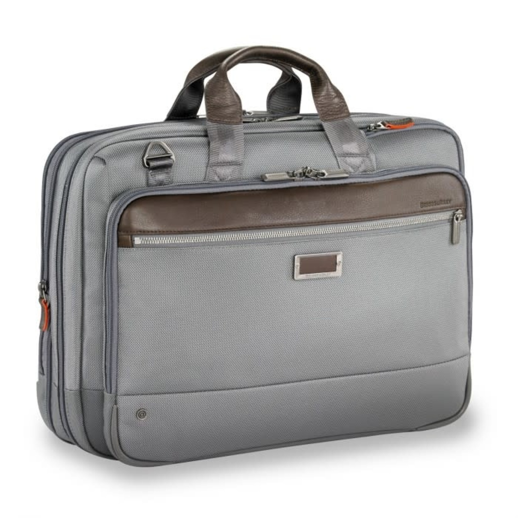 BRIGGS & RILEY @WORK LARGE EXPANDABLE BRIEF Grey