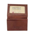 RFID GUSSET CREDIT CARD CASE