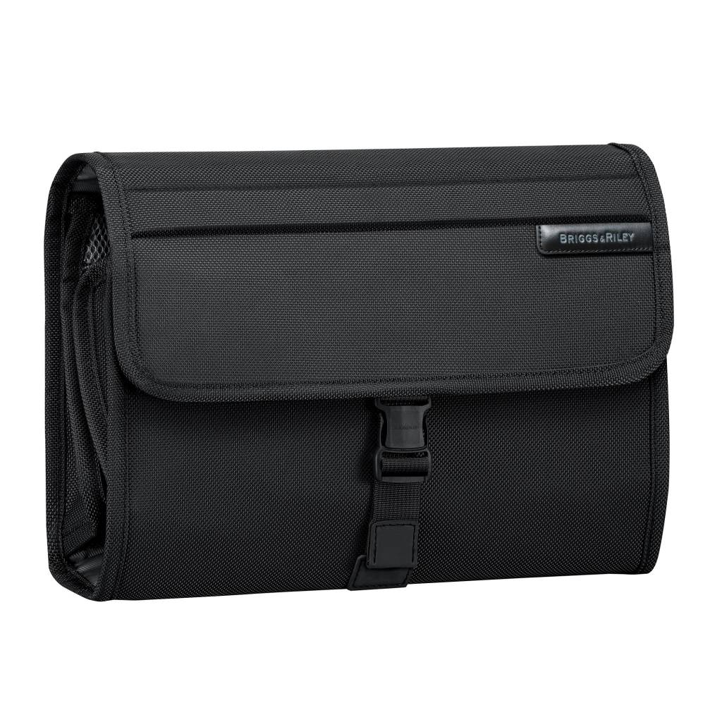BRIGGS & RILEY BASELINE DELUXE TOILETRY KIT (BLACK)