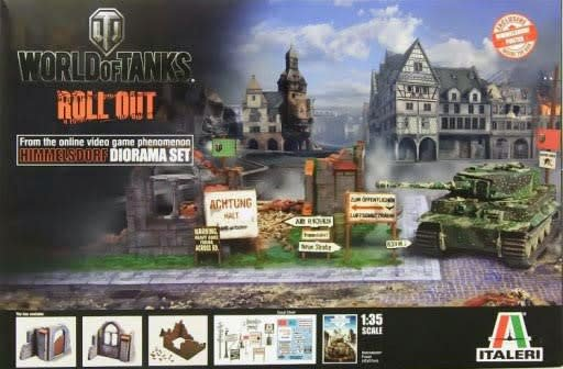 Italeri (ITA) 1/35 World of Tanks Himmelsdorf Dio