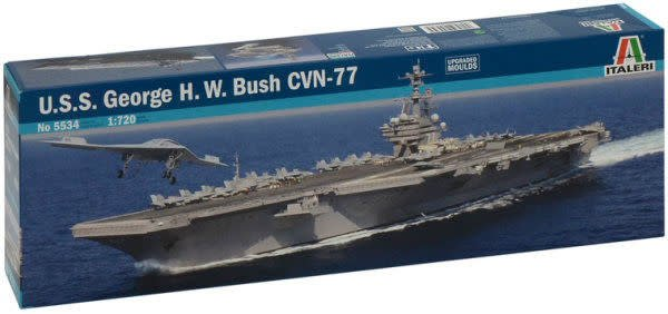 Italeri (ITA) 1/720 USS George HW Bush CVN77