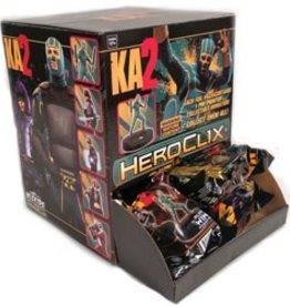 Wizkids (WZK) KA2 Heroclix: 24 Count Gravity Feed Display