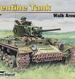 Squadron Signal      Publications (SSP) Valentine Tank Walk Around