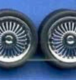 Pegasus Hobby (PGH) 1/24 Chrome Apollo's with Tires