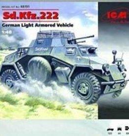 ICM Models (ICM) 1/48 Sd.Kdfz. 222 German Light Armored Car