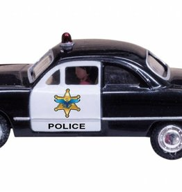 Woodland Scenics (WOO) HO POLICE CAR LIGHTED