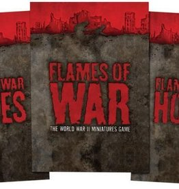 Flames of War (FOW) Flames of War Rule Book, 3rd Edition