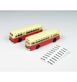 Classic Metal Works (MWI) N GMC TDH3610 Bus, Red/Cream(2)