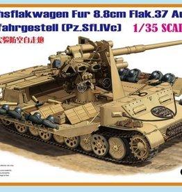 Bronco Models (BOM) 1/35 Versuchsflakwagen fur 88mm Flak.37