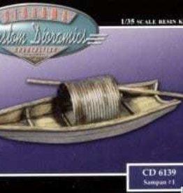 Custom Dioramics (CUD) 1/35 Sampan #1