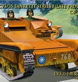 Bronco Models (BOM) 1/35 CV L3/35 Series II Tankette