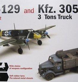 Supermodel (SUP) 1/48 Hs 129 & Kfz 305 Truck