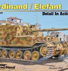 Squadron Signal      Publications (SSP) Ferdinand/Elefant Detail in Action
