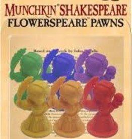Steve Jackson Games (SJG) Munchkin Shakespeare Flowerspeare Pawns