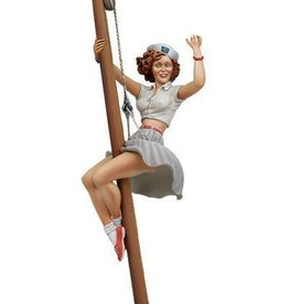 """Andrea Miniatures (AND) 80mm """"Ahoy There"""" Pin-up"""
