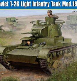 Hobby Boss (HBO) 1/35 Soviet T-26 Light Infantry Tank Mod.1938